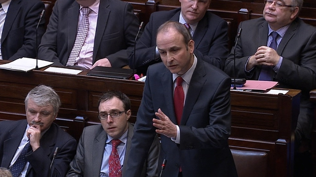 The poll puts support for Fianna Fáil just two percentage points behind Fine Gael