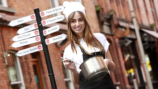 Daniella Moyles launches Dine in Dublin 2014