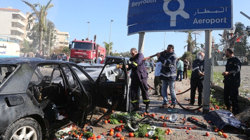 Two suicide bombers targeted the Iranian cultural centre in Beirut