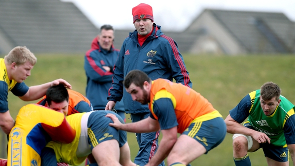 Anthony Foley will take over from Rob Penney in July