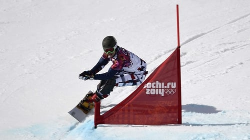 Vic Wild claimed gold in the men's snowboard parallel giant slalom final