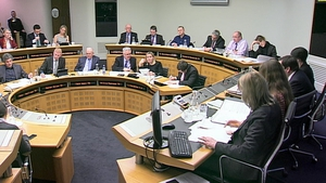 Alan Shatter appeared before a joint Oireachtas committee
