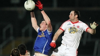 Brian Carthy reports from the Athletic Ground's as Tyrone won their third successive McKenna Cup