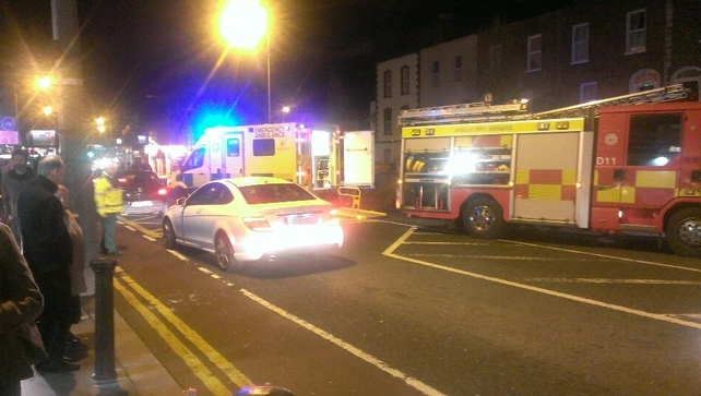 Gardaí said the vehicle was stolen elsewhere and driven to Ranelagh (Pic: @FPallonetto)