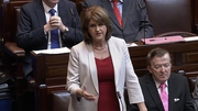 Joan Burton said the issue of bonuses was a matter for the board of Ervia