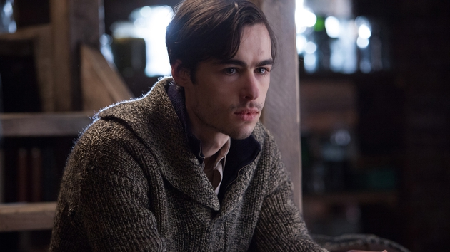 Ben Schnetzer plays a young Jewish man who hides in the family's basement