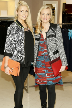 Lou O'Reilly and Catherine Kelly