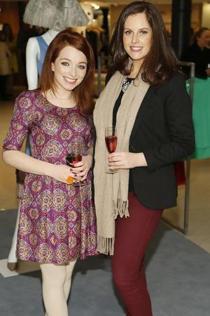 Irene O'Brien and Emma Farrell