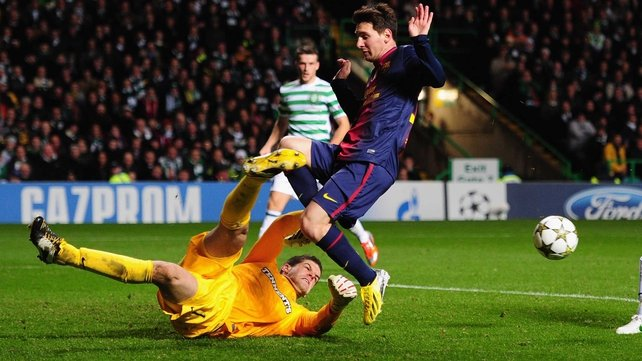 Forster has kept 12 consecutive Scottish Premiership clean sheets and impressed Barcelona in the 1-0 loss at Celtic Park in November