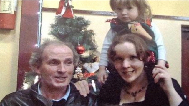 Rebecca McCarthy (R) gave evidence at the inquest of her late husband Michael and daughter Clarissa