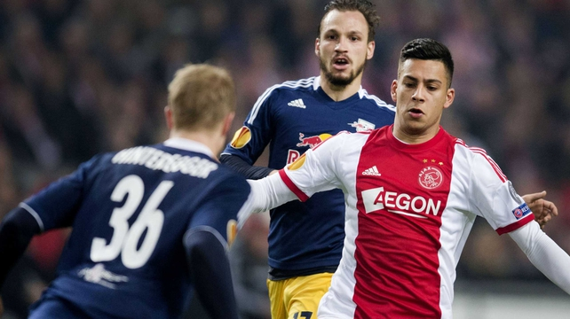 Ajax suffered a shock home defeat