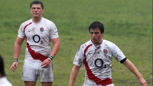 George Ford and Owen Farrell at England Under 18 level