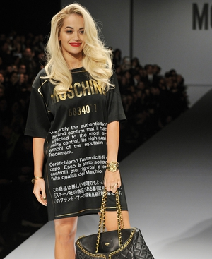 Rita Ora for Moschino