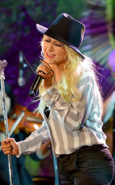 Christina Aguilera is expecting her second child according to a report