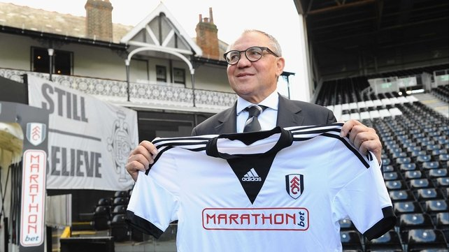 Felix Magath said the atmosphere at Fulham was not typical for a club fighting a relegation battle