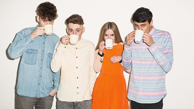 Clean Bandit celebrate hitting the Irish No 1 spot with a nice cuppa