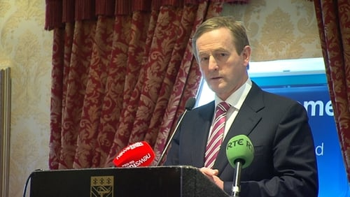 Taoiseach Enda Kenny said Alan Shatter was entitled to conduct an internal review