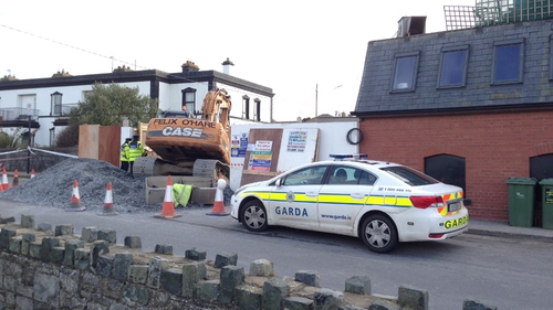 The man died in the incident on Harbour Road in Skerries