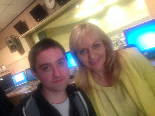 Conor O'Brien and Miriam O'Callaghan