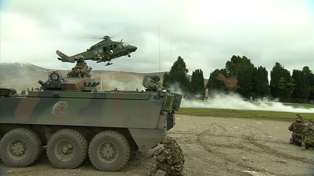 The Defence Forces' recruitment drive is to start immediately