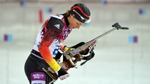 Evi Sachenbacher-Stehle won gold medal at Salt Lake City 2002 and Vancouver 2010