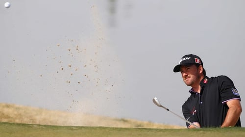 Graeme McDowell battled back against Hunter Mahan