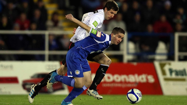 Sean Maguire in action for Waterford United prior to the move to West Ham