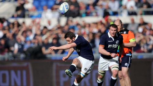 Greig Laidlaw landed an early penalty