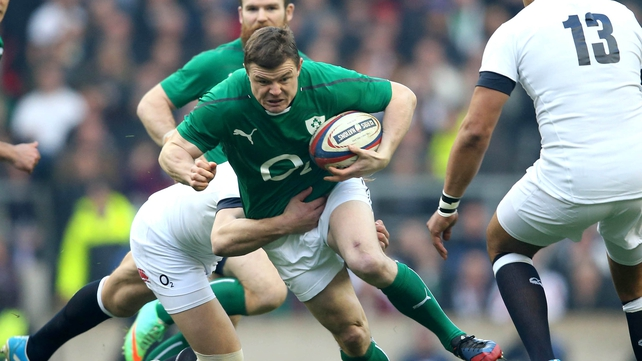 Brian O'Driscoll: 'I don't think you can go into Italy thinking about the score.'