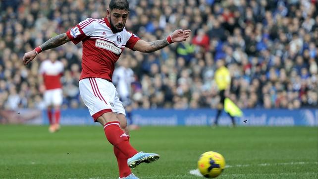 Ashkan Dejagah scored Fulham's only goal