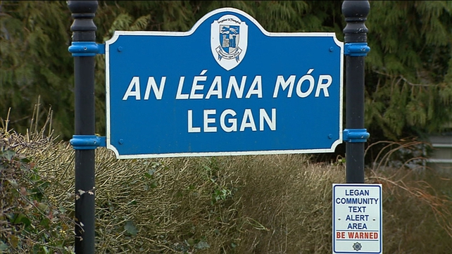 The woman was struck by a car in Legan