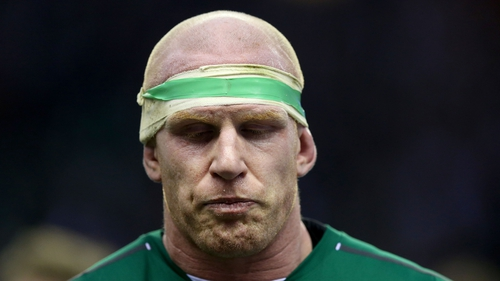 Paul O'Connell said Ireland created, but did not take, a lot of chances