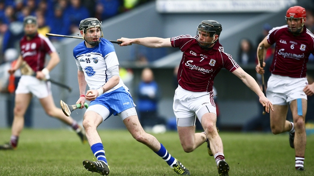 Ray Barry was to the fore as Waterford got off the mark in the top flight