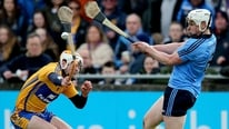 Des Cahill watched Dublin show much improvement in beating Clare in their league clash at Parnell Park.