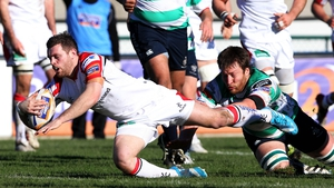 Darren Cave opened the scoring for Ulster