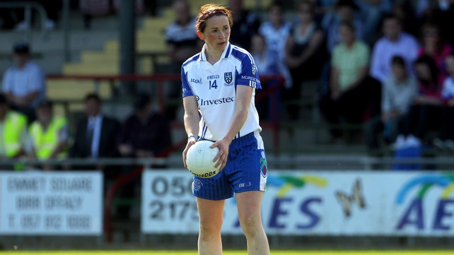 Niamh Kindlon scored 1-06 for Monaghan against Dublin