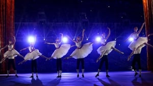 Dancers perform a celebration of Russian ballet during the ceremony