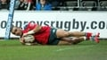 Munster regain top spot at Ospreys