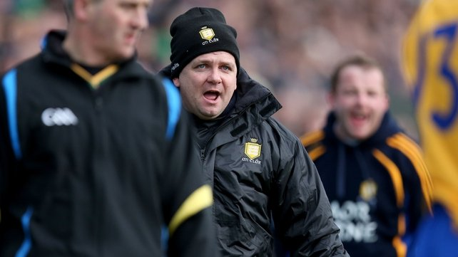 Davy Fitzgerald watches on as his side lose to Dublin