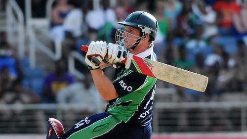 Gary Wilson top-scored for Ireland hitting 62 runs