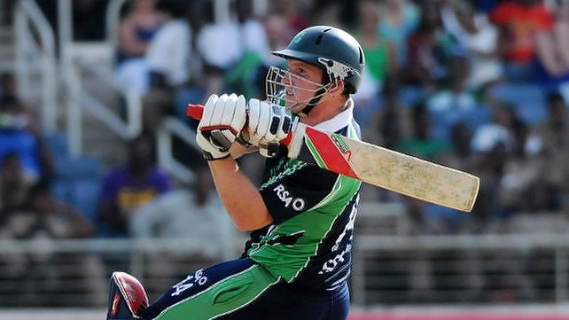 Gary Wilson top-scored for Ireland hitting 62 runs