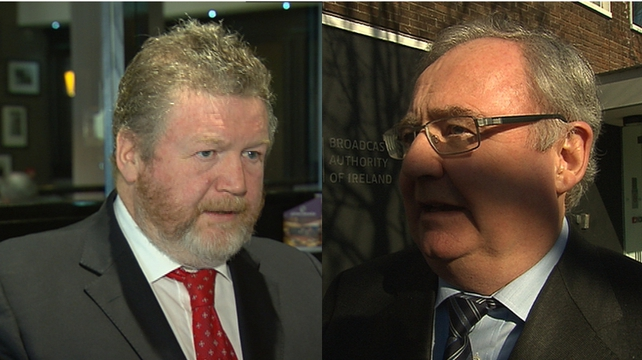 Ministers James Reilly and Pat Rabbitte expressed full confidence in Justice Minister Alan Shatter