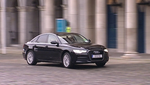 Car manufacturer Audi provided a number of its A6 cars during Ireland's presidency of the EU