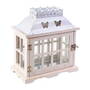 Wooden Butterfly Lantern €15.00