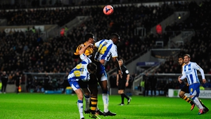 Curtis Davies headed Hull in front on   14 minutes