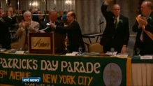 Organisers of New York's St Patrick's Day parade disappointed