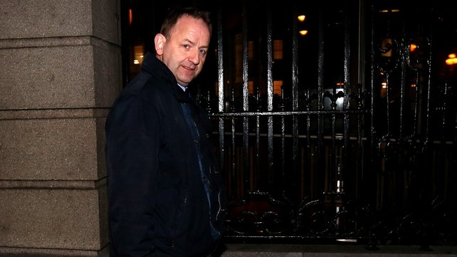 The Cabinet is discussing claims made by garda whistleblower Sergeant Maurice McCabe