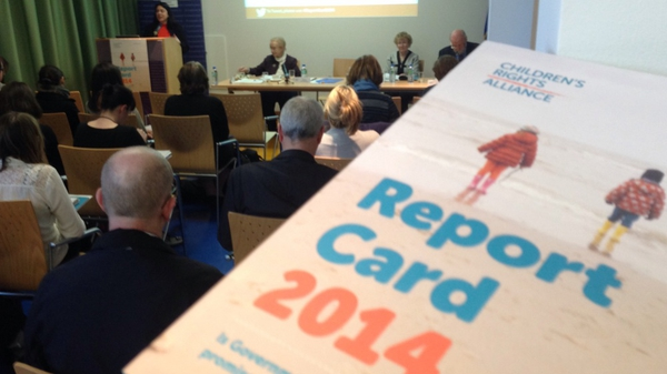 The report card evaluates the Government on its actions with children