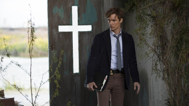 Matthew McConaughey stars in the second episode of True Detective