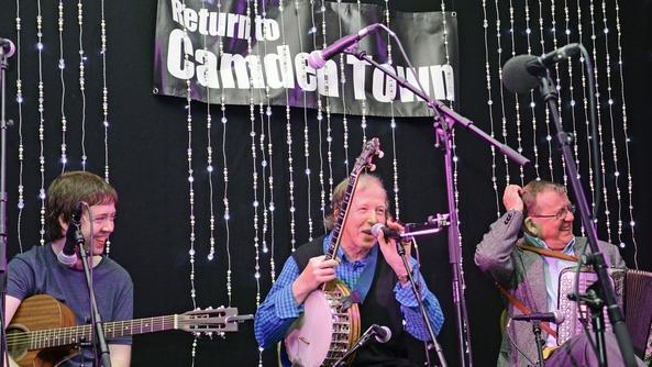 Ceol ó fhéile Return to Camden Town